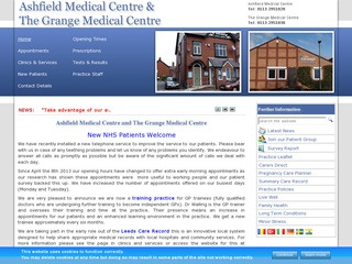Ashfield Medical Centre and The Grange Medical Centre