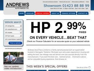 Andrews Auto Parcs Ltd