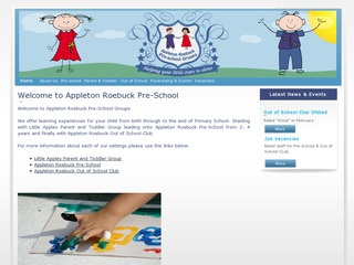 Appleton Roebuck Pre-school Groups