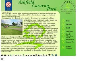 Ashfield Caravan Park and Holiday Cottages
