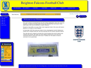 Beighton Falcons Football Club