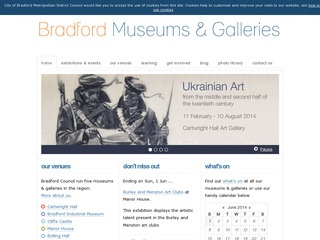 Bradford Museums, Galleries and Heritage