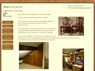 Simon Rickles Cabinet Making and Joinery
