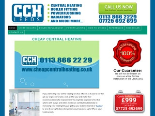 Cheap Central Heating Leeds