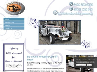 De-Lovely Wedding Cars