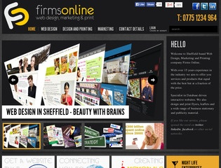Firms Online Web Design, Marketing & Printing
