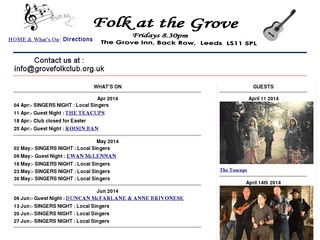 The Grove Folk Club
