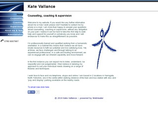 Kate Vallance: Counselling and Coaching