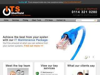 IT Support Sheffield