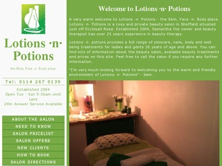 Lotions n Potions - Beauty Salon