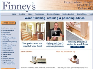 M D Finney Woodfinishing Materials