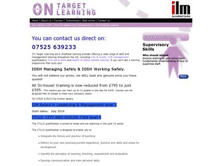 On Target Learning Ltd