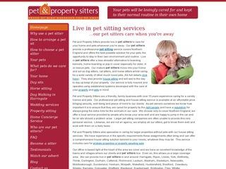 Pet & Property Sitters
