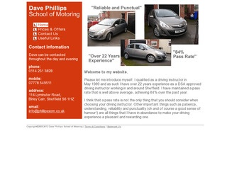 Dave Phillips School Of Motoring