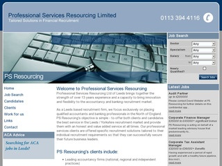Professional Services Resourcing Ltd