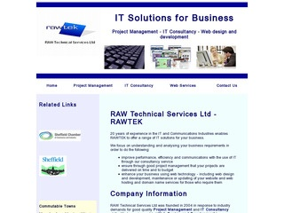 Raw Technical Services Ltd