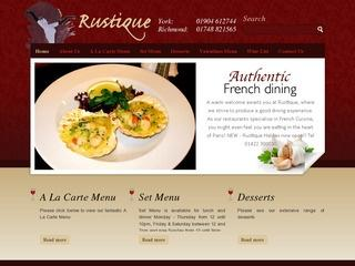Rustique Restaurant York