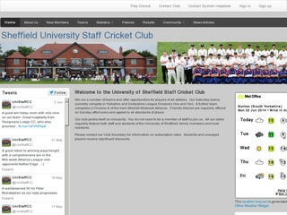 The University of Sheffield Staff Cricket Club