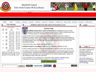 Sheffield United Girls Football Centre of Excellence