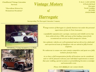 Vintage Motors of Harrogate