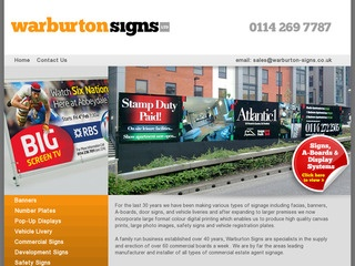 Warburton Signs Ltd