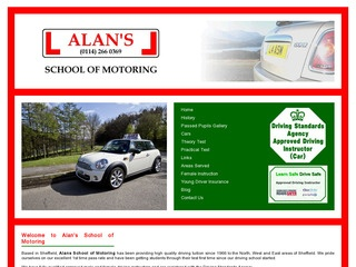 Alan's School of Motoring
