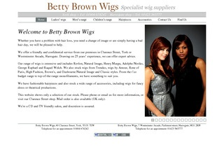 Betty Brown Wigs