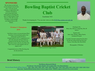 Bowling Baptist Cricket Club