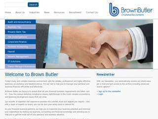 Brown Butler