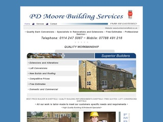 PD Moore Building Services