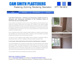 Cam Smith Plasterers