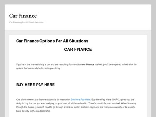 Cars and Finance Limited