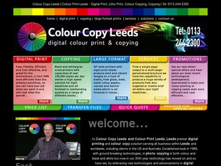 Colour Copy Leeds