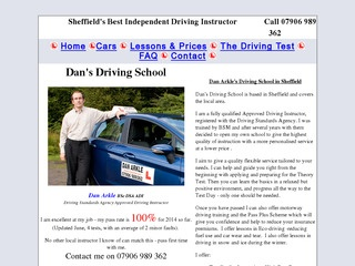 Dan's Driving School