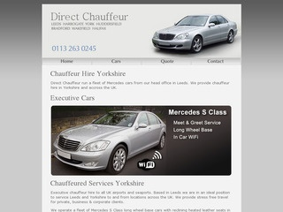 Chauffeur Driven Executive Car Hire