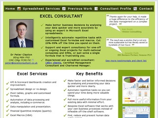 Sheffield's Excel Consultant