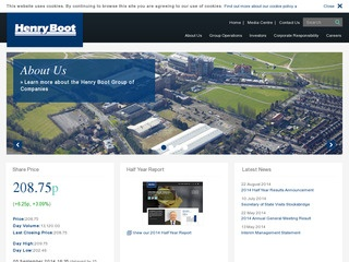 Henry Boot PLC Group