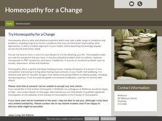 Homeopathy for a Change