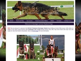 Kassieger German Shepherd Dogs