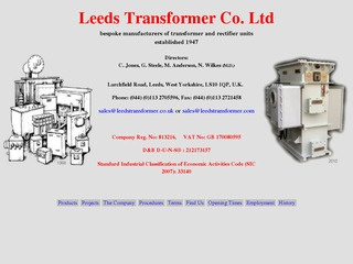Leeds Transformer Company Limited