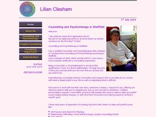 Lilian Clesham - Counselling and Psychotherapy in Sheffield