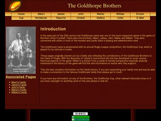 The Rugby Playing Goldthorpe Brothers