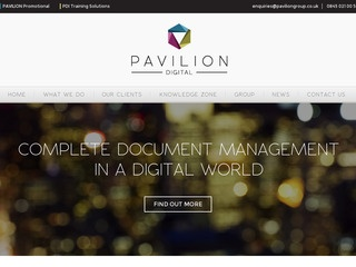 Pavilion Print Management Ltd