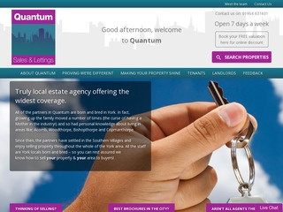 Quantum Estate Agents