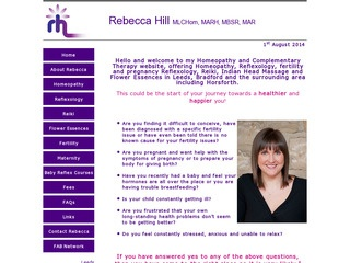Rebecca Hill Complementary Therapy