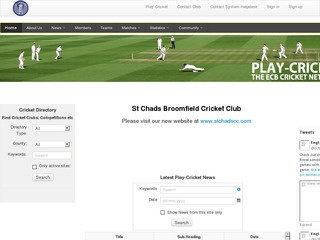 St Chads Broomfield Cricket Club