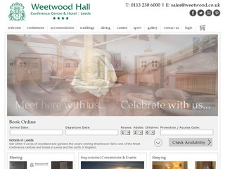 Weetwood Hall Conference Centre and Hotel