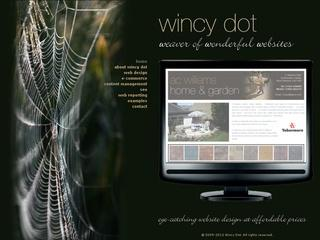 Wincy Dot Website Design