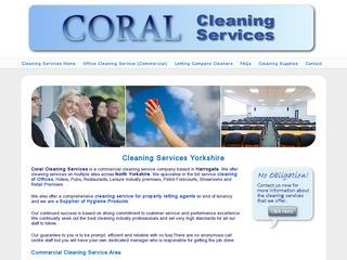 Coral Cleaning Services